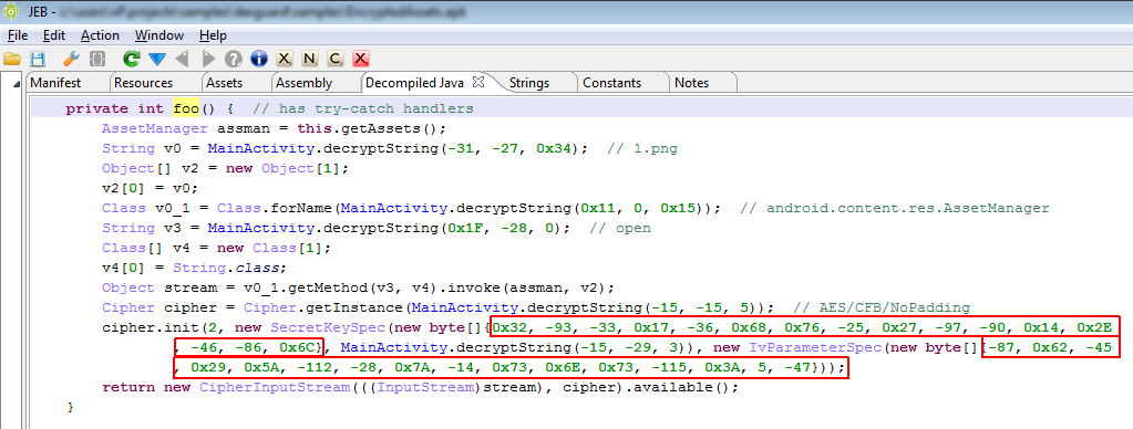 April 2013 – JEB Decompiler in Action