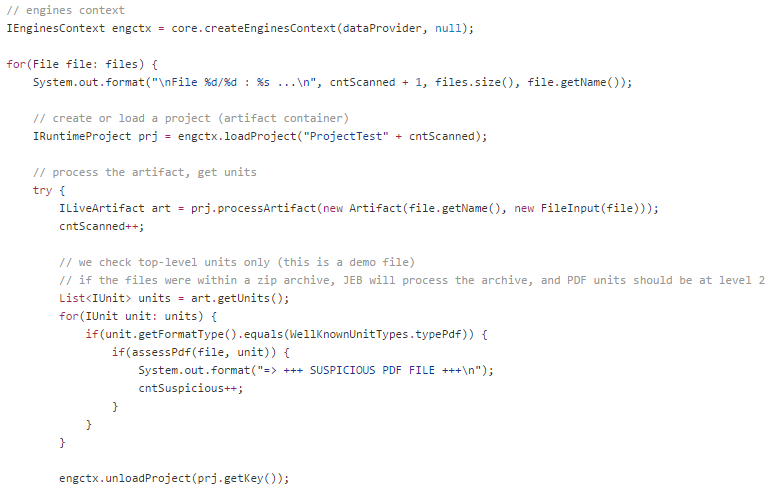 PDF   JEB Decompiler in Action